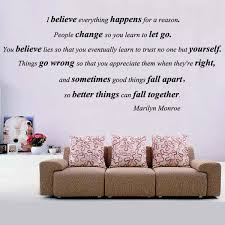 Marilyn Monroe Wall Art Quotes Quotesgram
