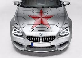 Winter Soldier Star Avengers Color Graphics Car Vinyl Decal Sticker Fit Any Auto Avengers Winter Soldier Winter Soldier Vinyl For Cars