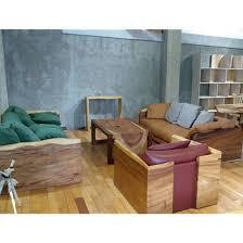 wood sofa set models vine industrial