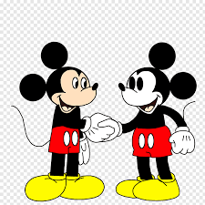 Mickey Mouse Minnie Mouse Oswald the Lucky Rabbit Handshake ...