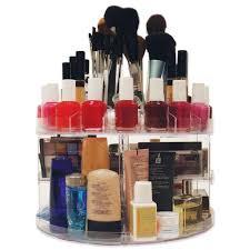 glam caddy rotating cosmetic organizer