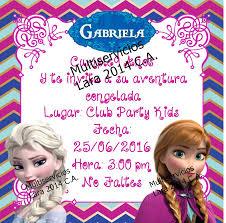 Tarjeta De Invitaciones Infantiles Cumpleanos Digitales Bs 0 02