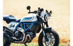 ducati scrambler cafe racer moto