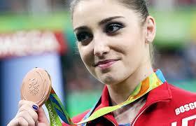 Russian gymnast Aliya Mustafina wins Olympic bronze in individual ...