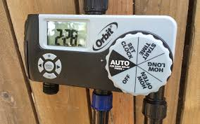 water timer and simple drip irrigation