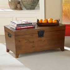 trunk storage bench coffee table