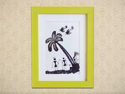 framed warli painting the arte