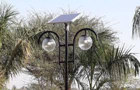 30 w garden led solar lights voltage