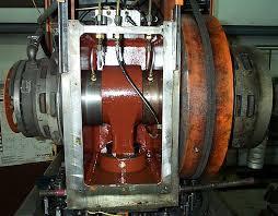 replaceing strippit flywheel bearings