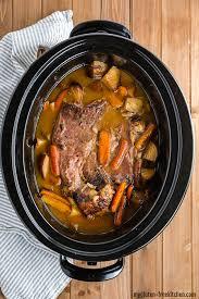 gluten free slow cooker pot roast