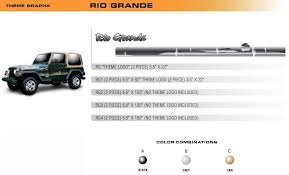 Rio Grande Universal Vinyl Graphics Decorative Striping And 3d Decal Kits By Sign Tech Media Inc Vinylgraphicspro Vinyl Graphics Stripes Decal Kits