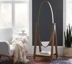 tera pivoting floor mirror pottery barn