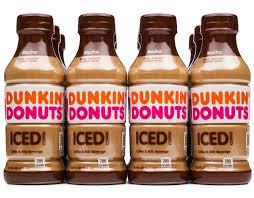 dunkin donuts iced coffee 12 x 13 7 oz