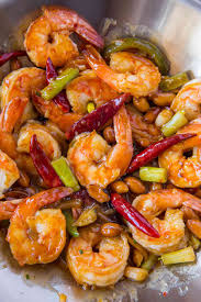 Kung Pao Shrimp - Dinner, then Dessert