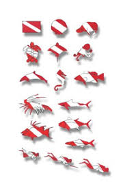 Dive Stickers And License Plates For Divers Scubatoys Com