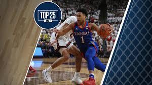 College basketball rankings: Kansas ...