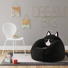 Enliven Your Kids Room With The Character Bean Bag Chair From Pillowfort Filled Full For Comfort This Bean Bag Fo Bean Bag Chair Kids Desk Chair Bag Chair