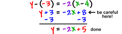 finding the equation of a line given a