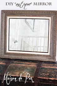 antique mirror tutorial maison de pax
