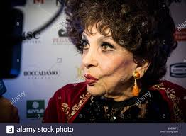 Actress Gina Lollobrigida attends the OGGI magazine's birthday party, at  Principe di Savoia Hotel in Milano Stock Photo - Alamy