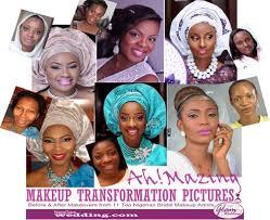 bridal makeup transformation