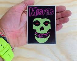 Misfits Car Decal Etsy