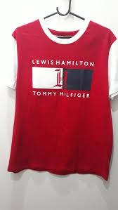 Tommy X Lewis Hamilton Camiseta