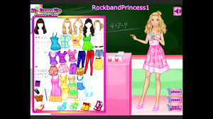 i want to see barbie games the la