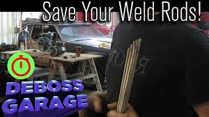 how to redry welding rods you