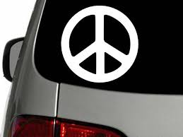 Hello Kitty Peace Sign Winking Bow Car Wall Vinyl Window Decal Decals Sticker 5 For Sale Online Ebay