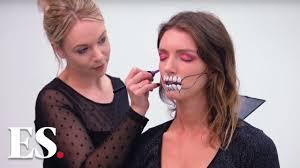 halloween 2019 skull makeup tutorial