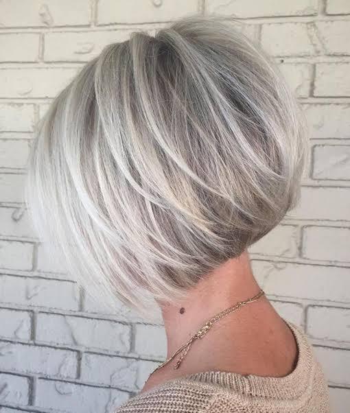 """Resultado de imagem para cabelo platinado mulher madura"""""""