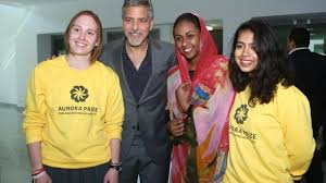 George Clooney visits United World College Dilijan