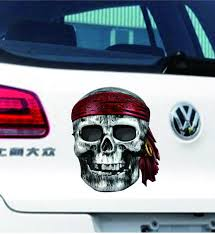 2020 New Style 13 12cm 3d Fashion Personality Creativity Classic Attractive Pirate Skull Vinyl Decals Car Sticker From Gudou 0 76 Dhgate Com