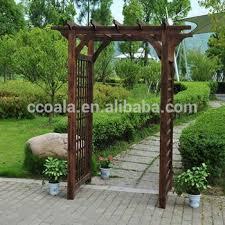 garden arbor cedar wood patio arch