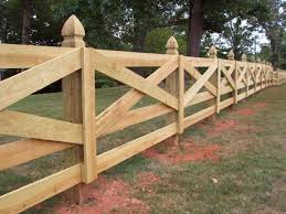 They Redid The Fence At My College And I Went To Check It Out While Woody And Ariat Were In The Pasture Kara Wood Fence Design Backyard Fences Fence Design