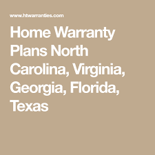 home warranty plans north ina