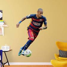 Fathead Fc Barcelona Neymar Forward Wall Decal Walmart Com Walmart Com