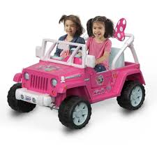 Power Wheels Disney Minnie Mouse Happy Helpers Jeep Wrangler Ride On Walmart Com Walmart Com