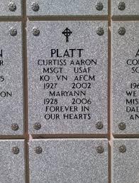 Curtiss Aaron Platt (1927-2002) - Find A Grave Memorial
