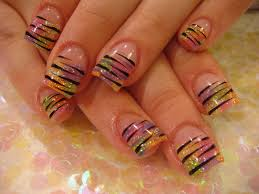 awesome acrylic spring nail designs