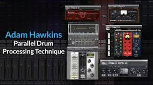 Drums) Parallel Drum Processing   Adding Compression & Distortion With Adam  Hawkins - YouTube