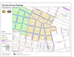 Richmond Va Public Works Parking Fan District