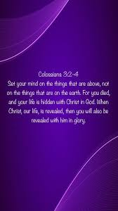 colossians set your mind on the encouraging bible