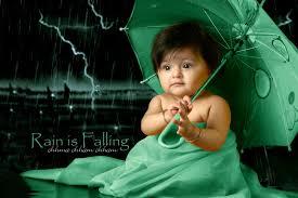 baby in green dress hd cute
