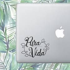 Pura Vida Pura Vida Decal Pura Vida Sticker Costa Rica Etsy
