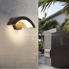 china ip65 waterproof exterior led wall