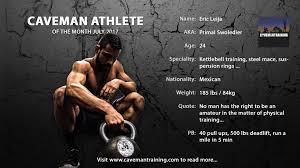 eric leija workout caveman athlete of