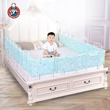 Best Price 051fe4 Bed Fence Infant Anti Fall Guardrail Combinable Child Bed Safety Rail Adjustable Newborn Playpen Crib Safety Products For Kids Cicig Co