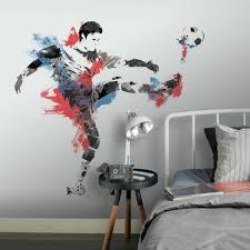 Men S Soccer Champion Giant Wall Decals Roommates Decor